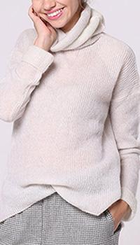 Гольф оверсайз Peserico белого цвета из альпаки, фото