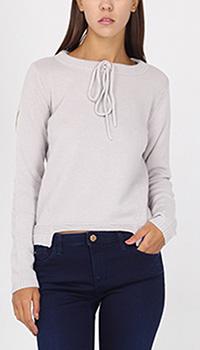 Укороченный джемпер Armani Jeans с завязками, фото