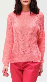 Свитер Twin-Set розового цвета, фото