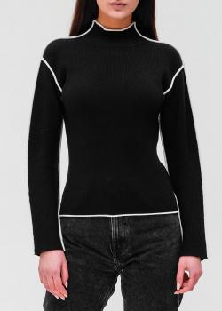 Трикотажный гольф Twin-Set черного цвета, фото