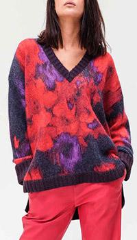 Пуловер Twin-Set с цветочным узором, фото