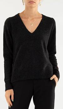 Кашемировый пуловер Zadig & Voltaire в черном цвете, фото