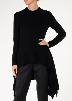 Удлиненный кашемировый свитер Michael Kors черного цвета, фото