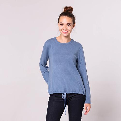 Кашемировый свитер Emporio Armani с завязками, фото