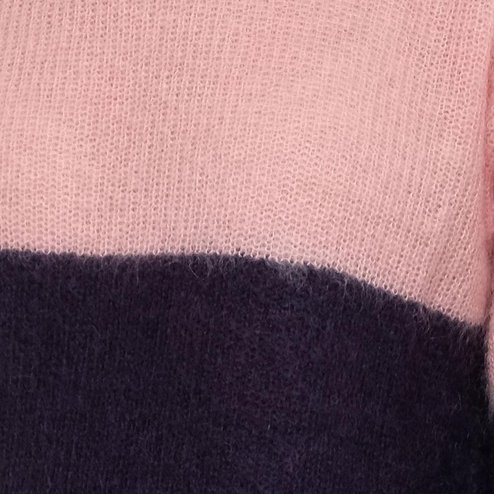 Свитер Emporio Armani розово-синего цвета