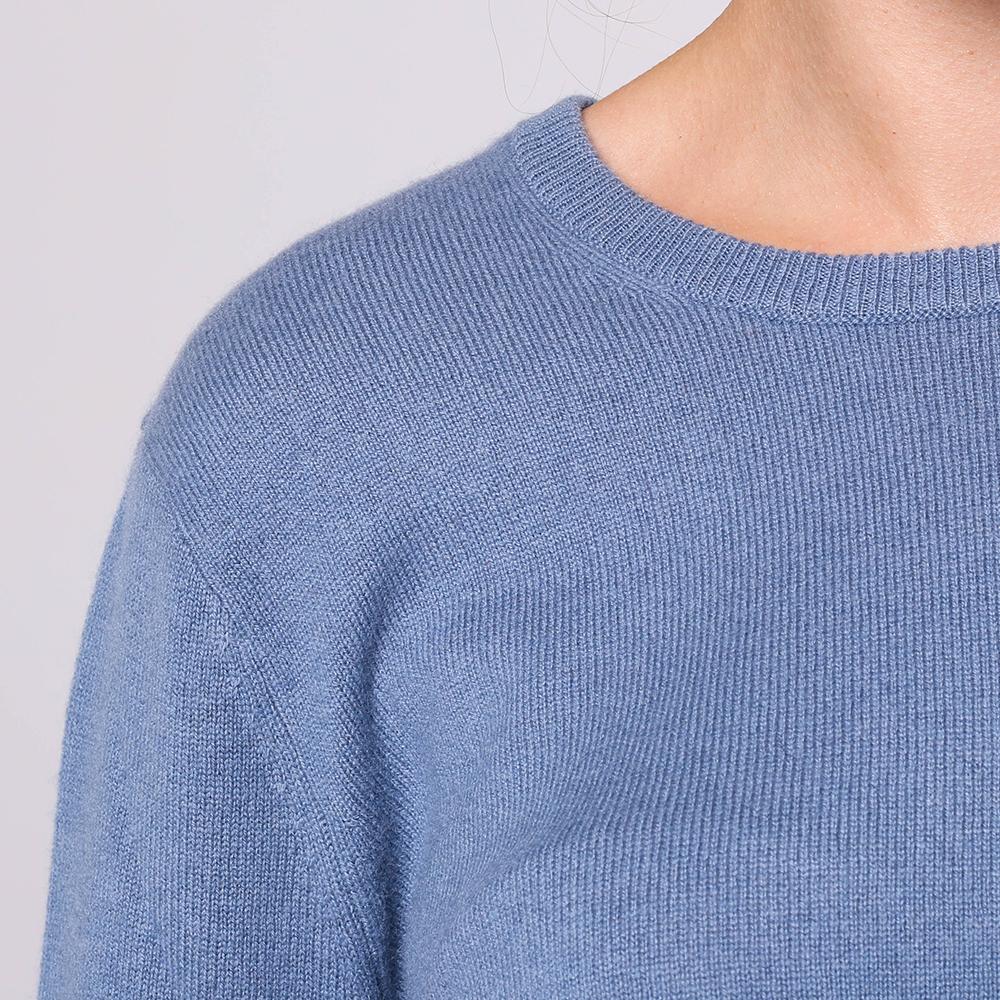 Кашемировый свитер Emporio Armani с завязками