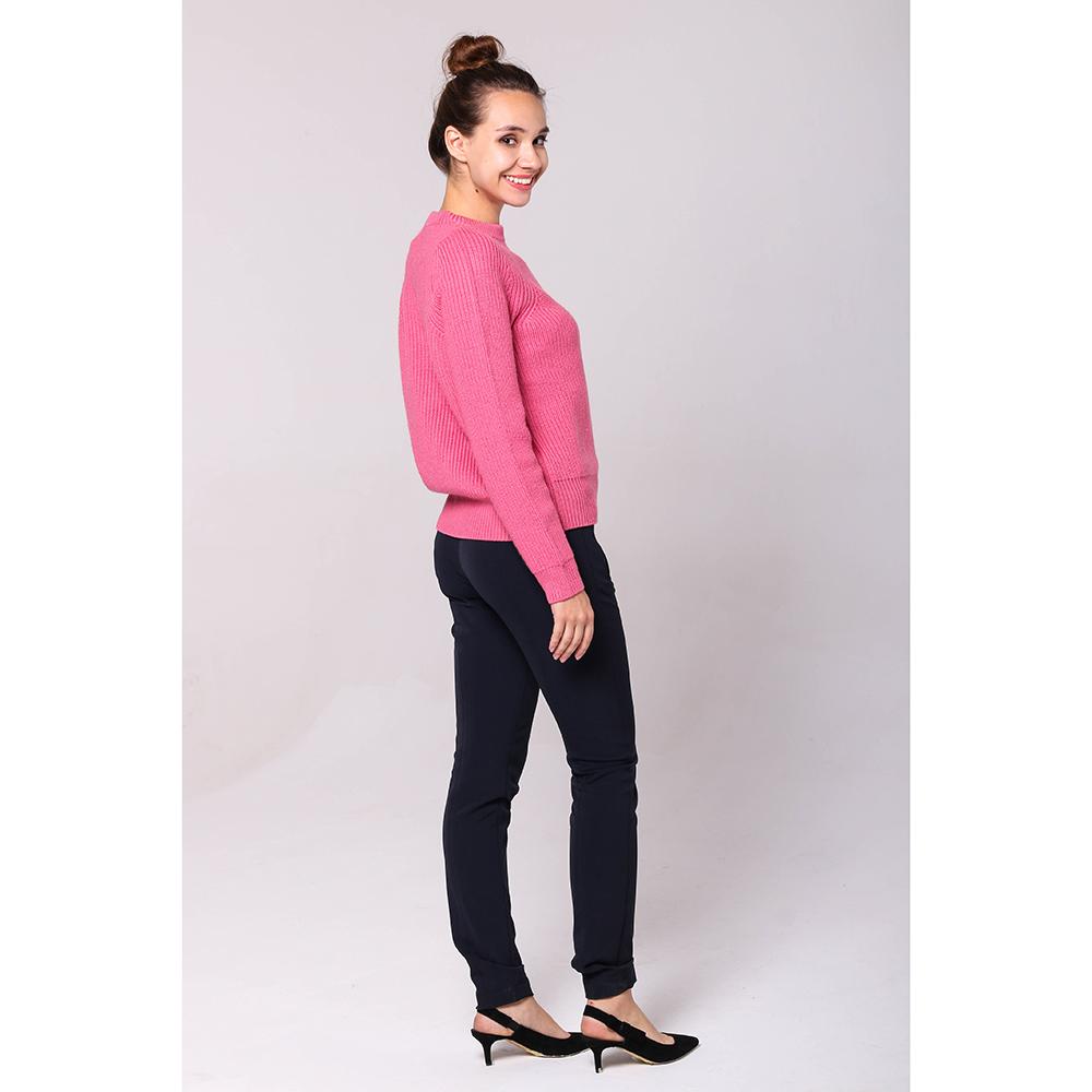 Вязаный свитер Emporio Armani розового цвета