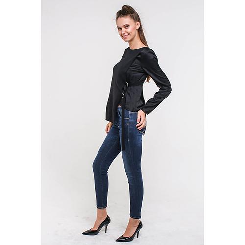 7a1cca778a6c ☆ Джемпер Armani Jeans черного цвета 6Y5M2X-5MFPZ-1200 купить в ...