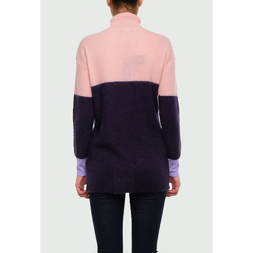 Свитер Emporio Armani розово-синего цвета, фото