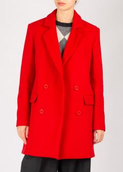Пальто Love Moschino красного цвета, фото