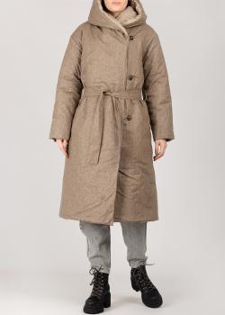Конопляное пальто Devo Home бежевого цвета, фото
