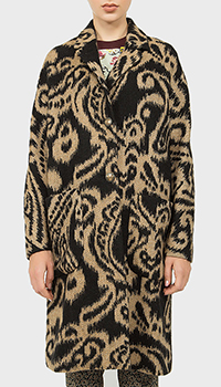 Женское пальто Etro с узорами, фото
