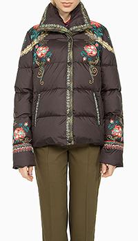 Женская куртка Etro с цветочным принтом, фото