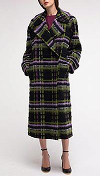Пальто Shako в клетку шерстяное, фото