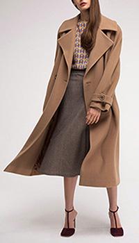 Пальто двубортное Shako из шерсти, фото