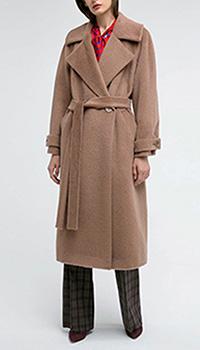 Двубортное пальто Shako с поясом, фото