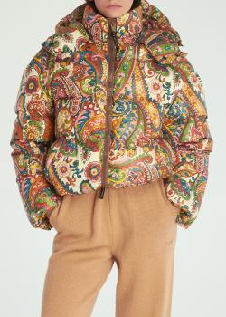 Куртка-пуховик Etro с высоким воротником, фото