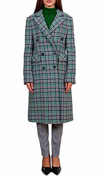 Пальто Sfizio серого цвета на пуговицах, фото