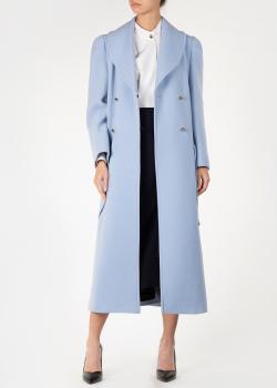 Кашемировое пальто Nina Ricci с объемными карманами, фото