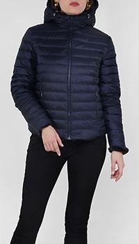 Двусторонняя куртка-пуховик Jott синего цвета, фото