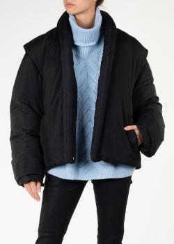 Короткий пуховик Isabel Marant черного цвета, фото