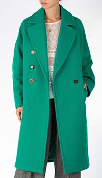 Пальто Pinko зеленого цвета, фото