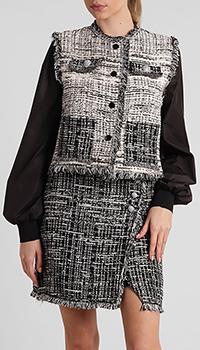 Куртка Pinko серого цвета, фото