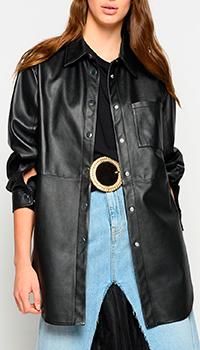 Жакет-рубашка Pinko черного цвета, фото
