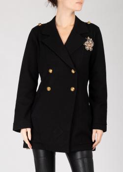 Короткое пальто Pinko черного цвета, фото