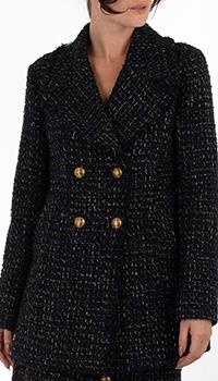 Короткое пальто Pinko синего цвета, фото