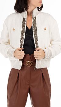 Куртка Pinko с вышивкой на спине, фото