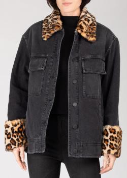 Джинсовая куртка Pinko черного цвета, фото