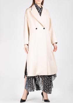 Шерстяное пальто Isabel Marant бежевого цвета, фото