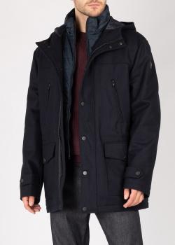 Синяя куртка Fynch-Hatton с капюшоном, фото