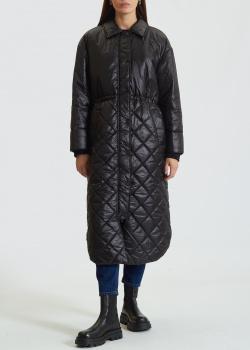 Пальто длины миди Twin-Set со стежкой, фото