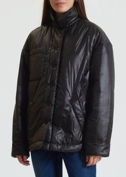 Куртка на кнопках Twin-Set черного цвета, фото