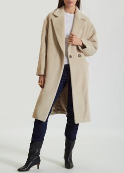 Шерстяное пальто Beatrice.B с объемными карманами, фото
