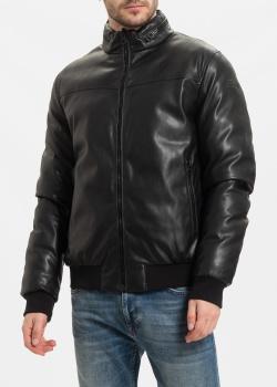 Двухсторонняя куртка-пуховик Fred Mello из искусственной кожи, фото