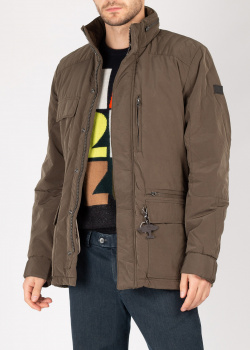Короткая куртка Fynch-Hatton цвета хаки, фото