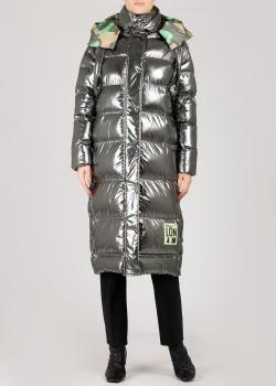 Двухстороннее пальто Patrizia Pepe с капюшоном, фото