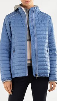 Легкий пуховик Bogner голубого цвета, фото