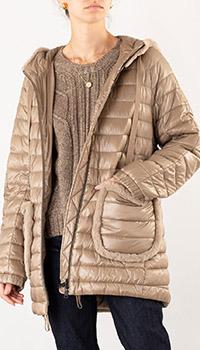 Куртка Luisa Cerano стеганая с капюшоном, фото