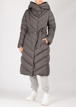 Стеганое пальто Add серого цвета, фото
