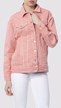 Женская куртка Silvian Heach светло-розового цвета, фото