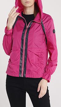 Легкая куртка Trussardi Jeans розового цвета, фото