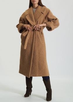Шерстяное пальто Carla Ponti с широкими лацканами, фото