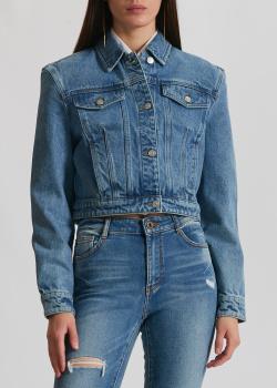 Джинсовая куртка Miss Sixty синего цвета, фото