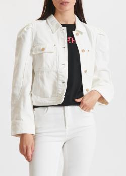 Джинсовая куртка Miss Sixty белого цвета, фото