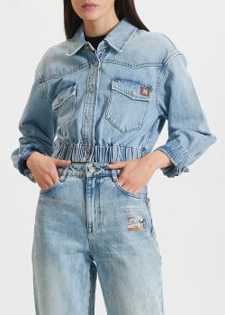 Джинсовая куртка Miss Sixty на кнопках, фото