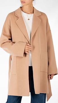 Шерстяное пальто Riani коричневого цвета, фото